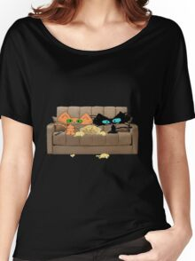 Cats Movie Night! Women's Relaxed Fit T-Shirt