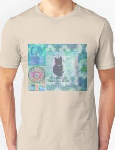 Cat quote by Charles Dickens T-Shirt