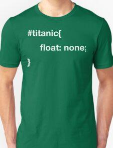 CSS joke. Unisex T-Shirt