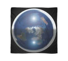 Beautiful Flat Earth with Sun & Moon Scarf