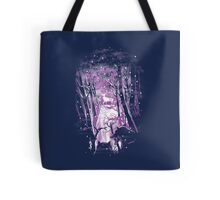 Wolf's Winter Tote Bag
