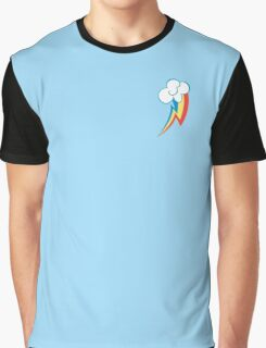 Rainbow Dash Cutie Mark Graphic T-Shirt