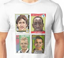 MOTD pundits - Retro Football Stickers Unisex T-Shirt