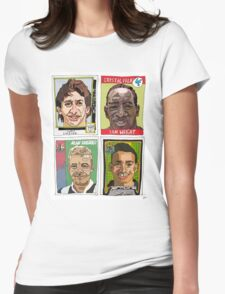 MOTD pundits - Retro Football Stickers Womens Fitted T-Shirt