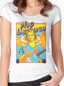 Mac DeMarco Women's Fitted Scoop T-Shirt