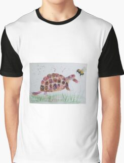Bumble bee and Tortoise Graphic T-Shirt