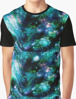 Sparkly Galaxy Graphic T-Shirt