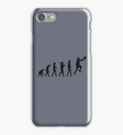 basketball evolution iPhone Case/Skin