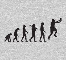 basketball evolution One Piece - Short Sleeve