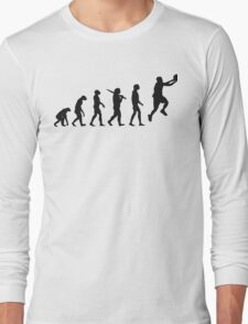 basketball evolution Long Sleeve T-Shirt