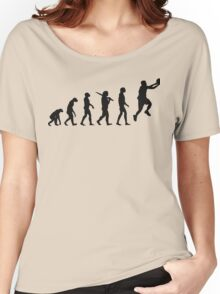 basketball evolution Women's Relaxed Fit T-Shirt