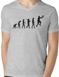 basketball evolution Mens V-Neck T-Shirt