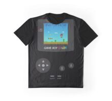 Retro Nintendo Game Boy Super Mario  Graphic T-Shirt