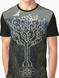 Forest and Spirit of the Commander Graphic T-Shirt