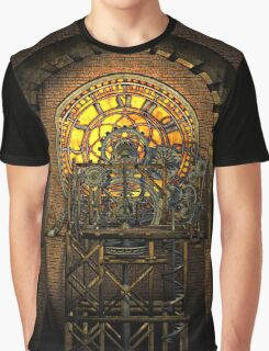 Inner Workings (Steampunk Clock) Graphic T-Shirt