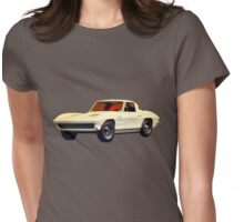1963 Corvette 2nd Generation Womens Fitted T-Shirt