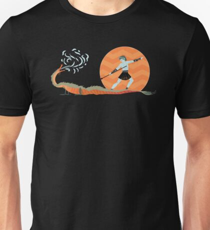 Dragon Slayer - A Bit of Whimsy Unisex T-Shirt