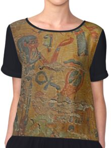 Ancient Egypt Women's Chiffon Top