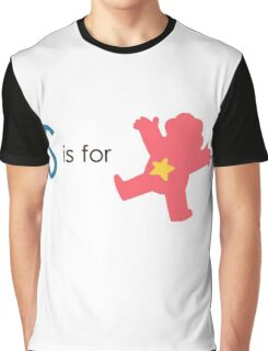 S is for Steven  Graphic T-Shirt