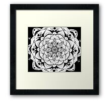 The Universe in the Palm of Your Hand Framed Print