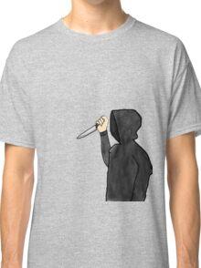 Psychopathic Knife Man Classic T-Shirt
