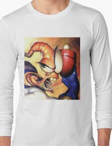 Earthworm jim Long Sleeve T-Shirt