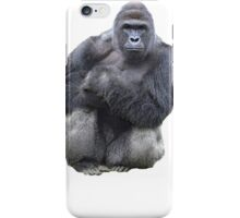 RIP HARAMBE - WHITE TEXT iPhone Case/Skin