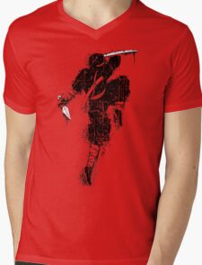 Killer Ninja Mens V-Neck T-Shirt