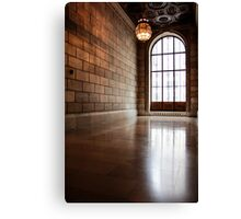 Window at the New York Public Library Canvas Print