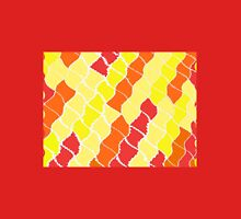 Sun Glints Wrap - Red, Yellow, Orange Unisex T-Shirt