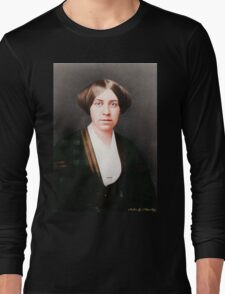 Louisa May Alcott Age 27 Long Sleeve T-Shirt