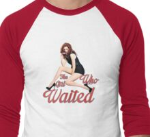 The Girl Who Waited. Men's Baseball ¾ T-Shirt