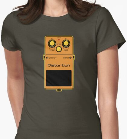 Distortion Womens Fitted T-Shirt
