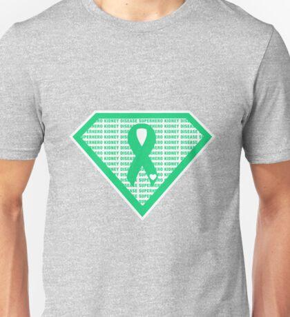 Kidney Disease Superhero Unisex T-Shirt
