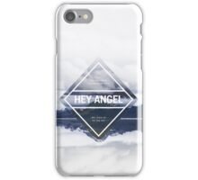 Hey Angel One Direction Lyrics iPhone Case/Skin