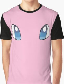 Mew Face Graphic T-Shirt