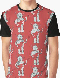 Guitar Robot Graphic T-Shirt