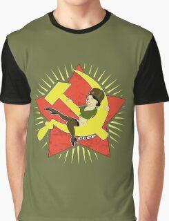CCCP Pinup Graphic T-Shirt