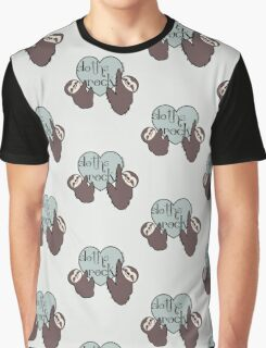 Sloths Rock Graphic T-Shirt