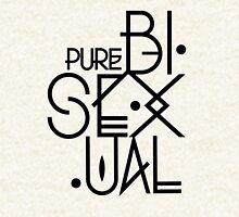 Bisexual Visibility ~ Pure Bisexual Hoodie