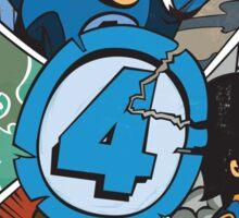 Fabtastic Four Sticker
