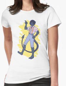 Cheesy 80's Gear Nightcrawler Womens Fitted T-Shirt