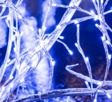Winter Wonderland - Lights, Frozen, Water, Ice #1  Sticker