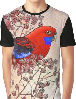 Crimson Rosella Graphic T-Shirt