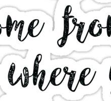 The Fosters Lyrics Sticker