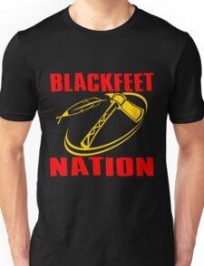 BLACKFEET NATION-TOMAHAWK 2 Unisex T-Shirt