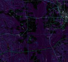USGS TOPO Map Alabama AL Gordo 304006 1967 24000 Inverted Sticker