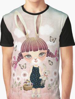 Sugar Bunny Graphic T-Shirt