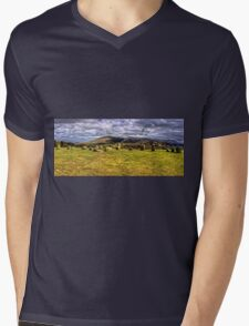 Castlerigg Stone Circle Mens V-Neck T-Shirt