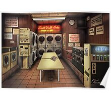 Coelary Laundromat Poster